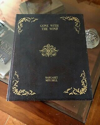 Gone With The Wind Fake Book Storage Box-Display on Bookshelf or Coffee Table