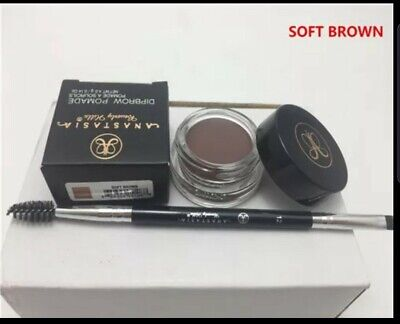 ANASTASIA BEVERLY HILLS Dipbrow Pomade SOFT BROWN With Free #12 Brow Brush