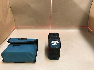 BOSCH 165 ft. Self Leveling Cross Line Laser Level Plumb Points GCL 2-160