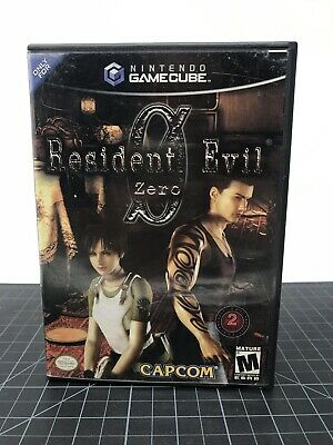 Nintendo Gamecube Resident Evil Zero Capcom Umbrella Corporation