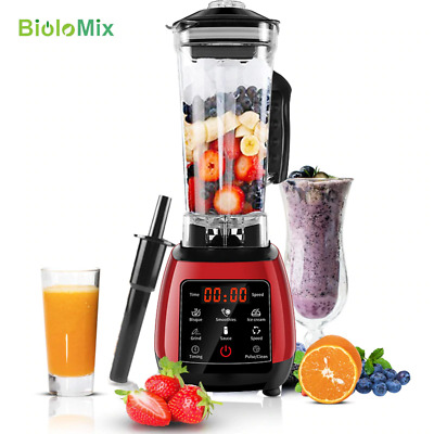BPA FREE High Power Digital Touchscreen Automatically Program 3HP Blender Mixer