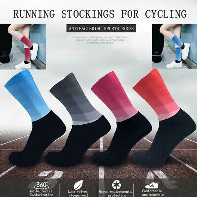 WOOL Heart Motif  socks  1 SIZE FITS ALL made in the USA running triathlon