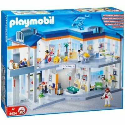 New Factory Sealed! Playmobil Playmobil Add On #6445 Helipad For Children's hospital