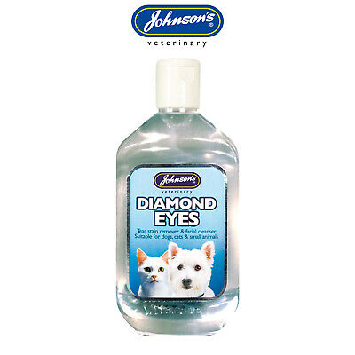 Johnson's Tear Stain Remover for Cats Dogs & Small Animals - 125ml