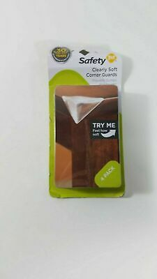 Safety 1st Clearly Soft Corner Guards - 4 pack New!!