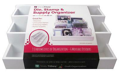Totally-Tiffany Dsst-6697  Totally Tiffany Desk Maid Die Stamp Supply Orgnizr