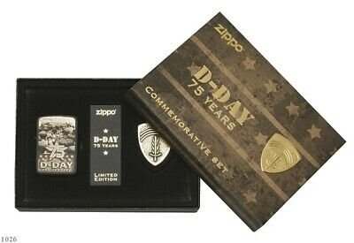 ZIPPO ★ D-DAY 75 YEARS (Limited Edition - 1 of 10000)