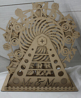 M121CANDY FERRIS WHEELV9 candy cart ferris wheel table top BIGGEST SIZE ON