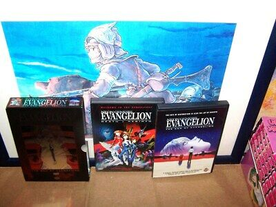 Neon Genesis - Death Rebirth/The End Of Evangelion with art box - USED Anime DVD