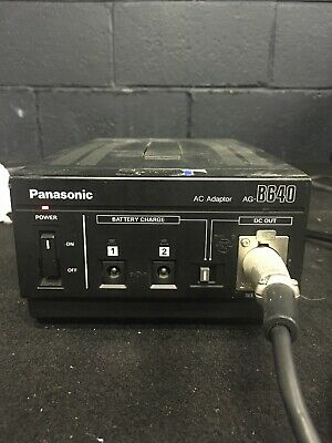 Panasonic Ag-B640 Model Agb640 Ac Adapter Camera Power Supply Charger Tested Mw