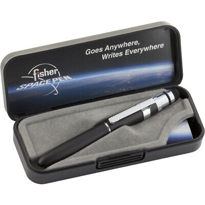 FISHER BG4CL/S Fisher Space Pen Bullet Grip Space Pen with Clip and Conductiv...