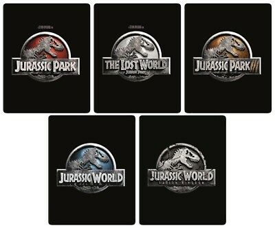 Jurassic Park Complete Collection 4K (Exclusive Ltd Ed Blu-ray Steelbooks) [UK]