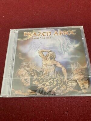 Brazen Abbot - Guilty as Sin New/Sealed Import Rare