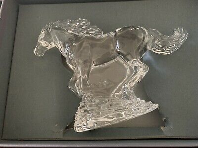 Waterford Crystal Running Horse Label,  Box, Sleeve,  Booklet