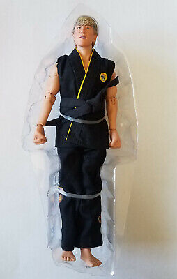 "LOOSE NECA Karate Kid Tournament Johnny Lawrence 8"" Scale Retro Cloth Figure"