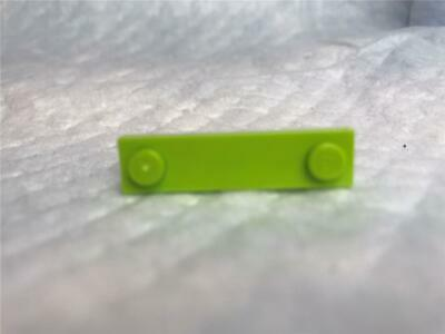 X5 Red Plate Mod 1x4 With 2 Studs Genuine Lego Part 4631877 New.