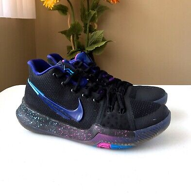 huge discount 4cfed 736f5 NIKE KYRIE 3 Flip the Switch Black Deep Royal Blue 852395 ...