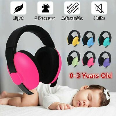 Adjustable Baby Ear Muffs Noise Cancelling Reducing Earmuffs Hearing Protection#