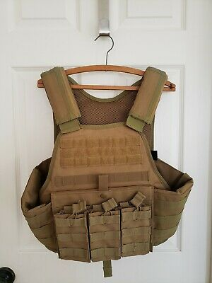 New w/out tag Rothco Tactical Molle Vest - Coyote Tan