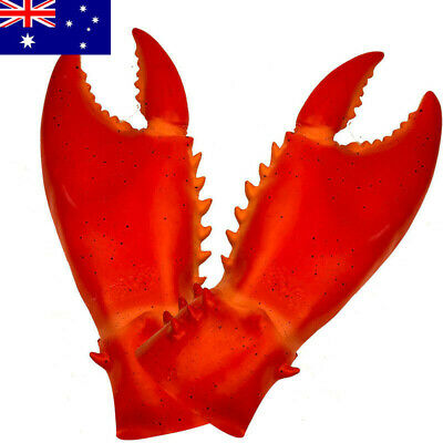 Crab Gloves Lobster Claws Hand Puppet Costume Novelty Animal Toys Party Favors