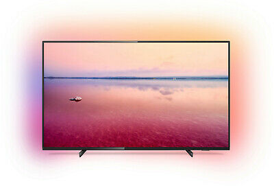 PHILIPS 50PUS6704/12, 126 cm (50 Zoll), UHD 4K, SMART TV, LED TV, 1200 PPI, Ambi