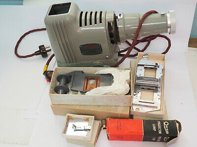 Elmo Elmoslide-51 Slide Projector Vintage as new mint