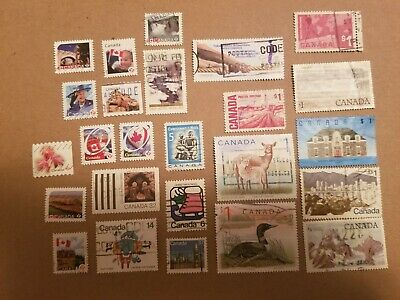 Canada Used  Stamps Lot #9