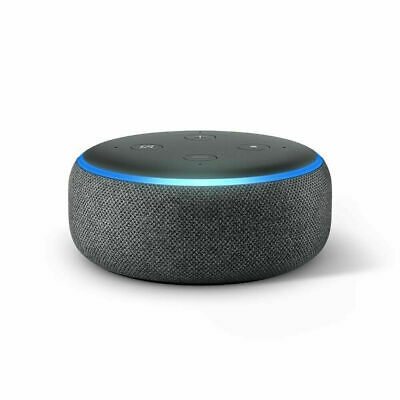 Amazon Echo Dot 3rd Gen Smart Speaker with Alexa - Charcoal Gray Sealed