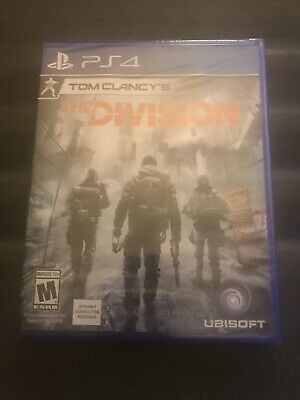 Tom Clancy's The Division (Sony PlayStation 4, 2016) Brand New Sealed