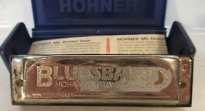 HOHNER BLUESBAND Harmonica MS M533056  E Key 532/20 Case With Booklet Germany