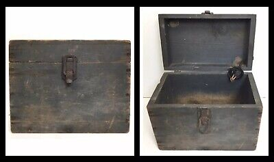 Antique Wooden Battery Box for Dry Cell Battery Automobile, Ham Radio, Medical
