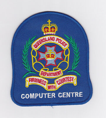 Queensland Police Computer Centre Patch (social)