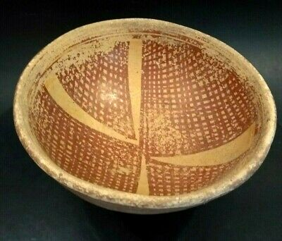 Large Pre Columbian Narino Culture Pedestal Bowl - ECUADOR - 850 to 1500 AD