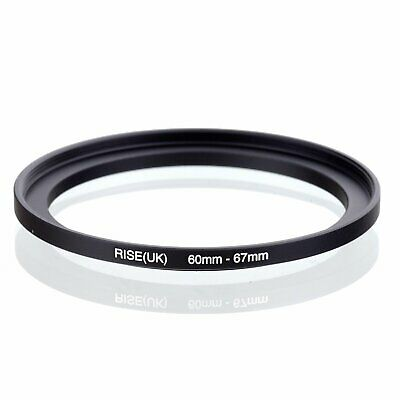 60-67 60mm to 67mm 60mm-67mm Matel Step-up Stepping Up Ring Filter Adapter