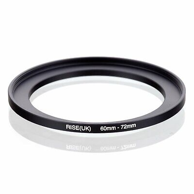 60-72 60mm to 72mm 60mm-72mm Matel Step-up Stepping Up Ring Filter Adapter