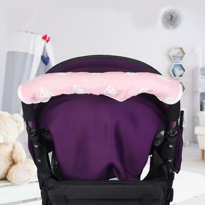 Baby Pram Pushchair Stroller Cotton Blend Handle Washable For Bumper Cover