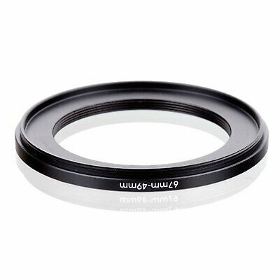 67-49 67mm to 49mm 67-49mm Matel Step-down Stepping Down Ring Filter Adapter