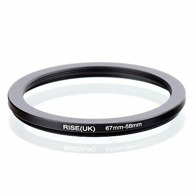 67-58 67mm to 58mm 67-58mm Matel Step-down Stepping Down Ring Filter Adapter