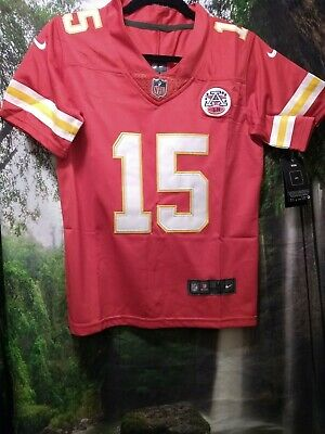 PATRICK MAHOMES Kansas City Chiefs (Youth) Med, size 10/12, Red, stitched Jersey