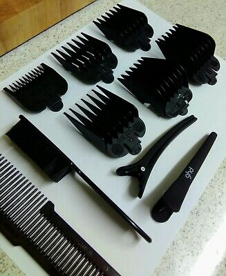 Wahl Clipper Guards/Comb, GHD Section Clips, Andis Brush