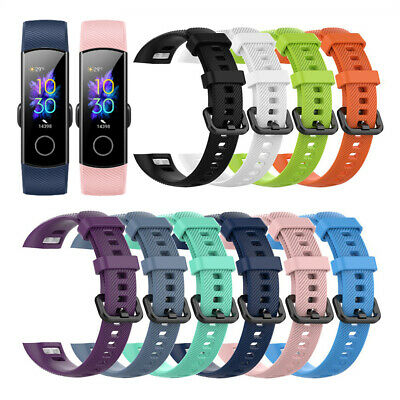 Bracelet Sport for Huawei Honor Band 5 4 Silicone Watch Band Wrist Strap
