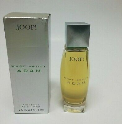 Joop What About Adam  After Shave Lotion  ( Splash )  75 ml spray New & Rare