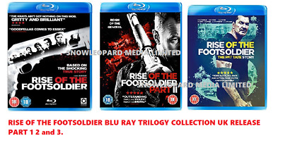 THE RISE OF THE FOOTSOLDIER 1-3 Blu ray COLLECTION TRILOGY PART 123 foot soldier