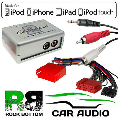 AUDI A4 B7 2005-08 Car Stereo Aux iPhone iPod Interface