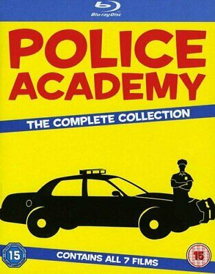 Police Academy 17 The Complete Collection Bluray [DVD]