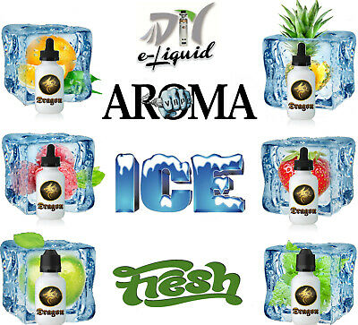 Liquid Aroma FROSTY ICE Cool & Menthol Aromen kühle frische Cooling E Liquids