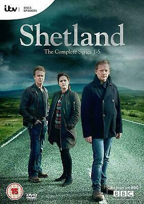 SHETLAND COMPLETE SEASON SERIES 1-5 DVD BOXSET Brand New and Sealed UK REGION 2