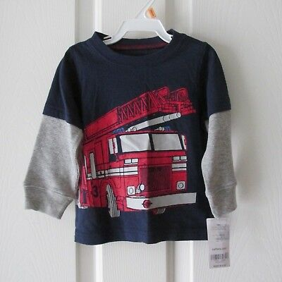 BOYS   LONG SLEEVE  SHIRT NWT SIZE 12 months MSRP $14.00