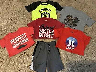 Hurley, Perfect Gentleman, Future Mr. Right Toddler Boys Lot sz 5