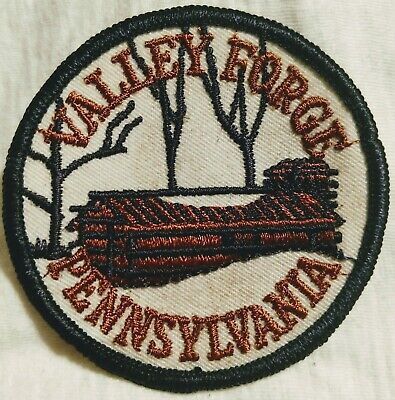 Vintage Valley Forge Pennsylvania Embroidered Souvenir Travel Patch